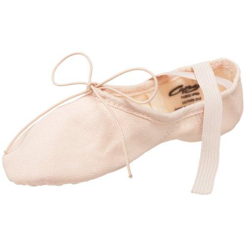 Capezio Toddler/Little Kid Canvas Juliet 2028C Ballet Shoe,Light Ballet Pink,2 M US Little Kid