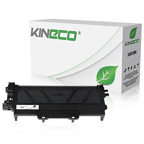 Kineco XXL Toner kompatibel für Brother TN-2010 TN-2220 für Brother HL-2130 MFC-7360N HL-2135W - Schwarz 10.400 Seiten
