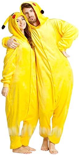 Inception Pro Infinite Talla m - Pijama y Disfraz - Carnaval - Halloween - Pikachu - Pokemon - Color Amarillo - Adultos - Unisex - Mujer - Hombre - nios
