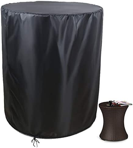 Saking Patio Cool Bar Side Table Cover Designed for Keter 7 5 Gallon Cooler Outdoor Coffee Beverage product image