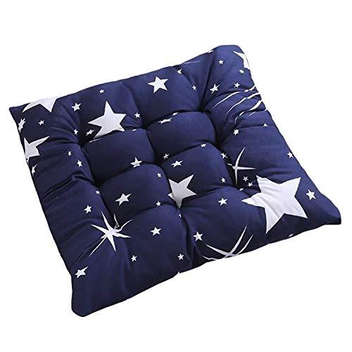 Weimay Cojín para Silla Pads Home Cojín Estrella Comedor para su Cocina/Barhocker, Silla de Oficina/Comedor, Silla de Ruedas, sofá 40 x 40 cm
