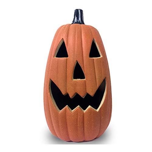 CLOTHES WRJ@ Halloween Deko Kürbis Herbstdeko Windlicht Deko-Kürbis