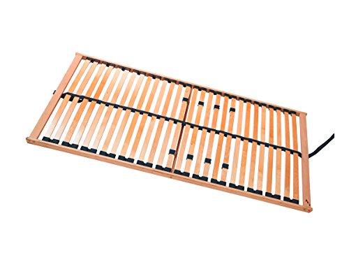 moebel-eins Rubin 5-Zonen Lattenrost NV, stabile Birke, TÜV Zertifiziert, 100 x 200