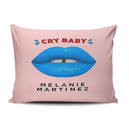 ZeDae Melanie Martinez Personalized Pillowcases Funny Pink Decorative Pillow Case Cover 12x20 Inches Pillowcase One Sided