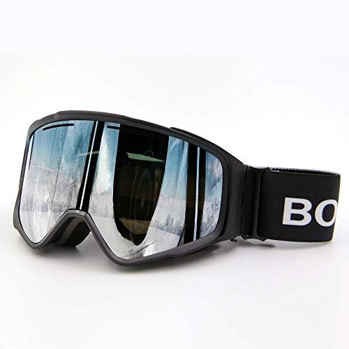 Formula motion Skibrille, Anti-Fog-Skibrille Aus Zweifachem, Abnehmbarem Zylinderglas Mit Magnet Für Outdoor-Ausrüstung Für Herren Und Damen,Style4
