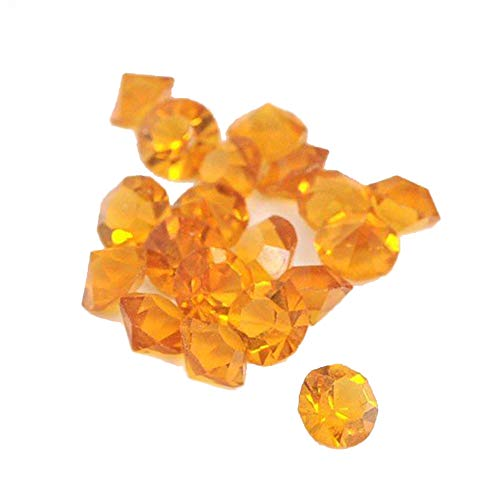 Andant Floating Charms zwevende medaillons – geboortestenen kristallen november (citrien)