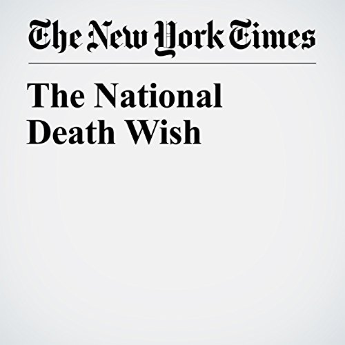 The National Death Wish copertina
