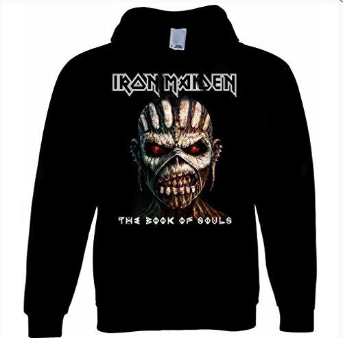 Officielle Iron Maiden???Livre de Souls???Sweat ? capuche pour homme - Noir ...