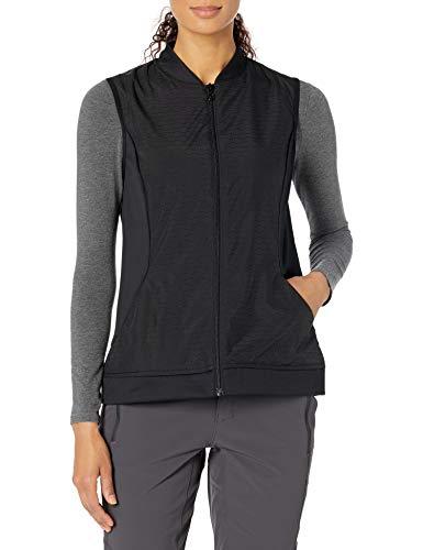 PGA TOUR Women's Sleeveless Vest, Caviar, Medium