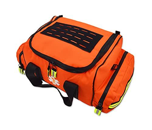 Lightning X Large EMT First Responder Bag w/Dividers - Florescent Orange