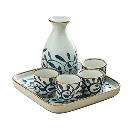 WYDM Japanisches Sake-Set aus Keramik...