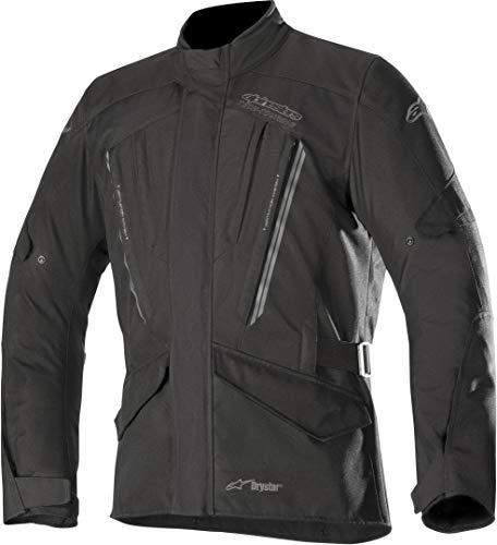 Alpinestars Chaqueta moto Volcano Drystar Jacket Black, Negro, L