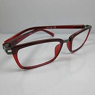 KOST elegante leesbril +1,0 rood metaal kunststof leeshulp dames & heren
