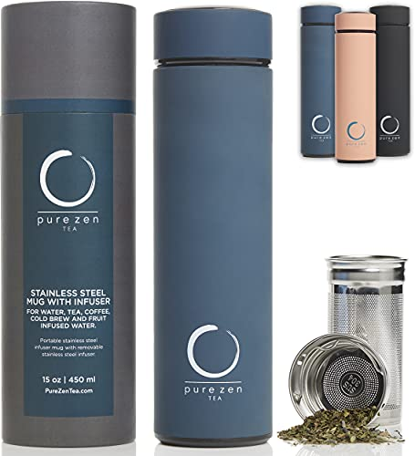 Pure Zen Tea Thermos with Infuser
