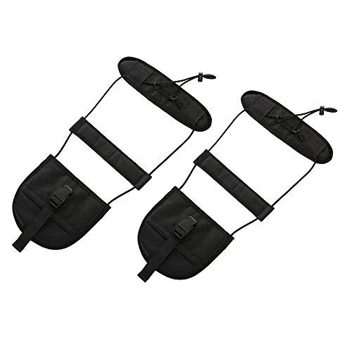 Bag Bungee,Luggage Strap Bungee Add a Bag -Justdo Adjustable Travel Suitcase Belt Attachment Accessories - Terminal Friendly Travel Bag Bungee Strap (2 pack)