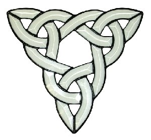 Stained Glass Supplies - Bevel Cluster - Celtic Knot-15pc/set by Stallings Stained Glass