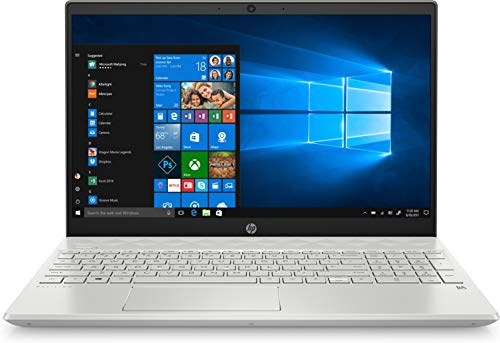 """HP Pavilion - 15-cs3011ns - Ordenador portátil de 15.6"""" FullHD (Intel Core i5-1035G1, 16GB de RAM, 1TB SSD, NVIDIA GTX 1050-3GB, Windows 10) Plata - teclado QWERTY Español"""
