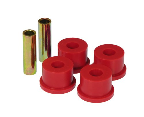Prothane 19-611 Pivot Bushings Red Bushing OD 1.75 in. Sleeve Length 3.0 in. Bolt Size 5/8 in. Rear Pivot Bushings