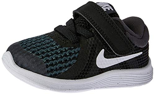 Nike Revolution 4 (TDV), Zapatillas de Marcha Nórdica Unisex Niños, Negro (Black/White/Anthracite...