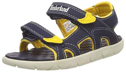 Timberland Perkins Row 2-Strap, sandale junior Descubierta Unisex niños, Azul (Black Iris), 24 EU