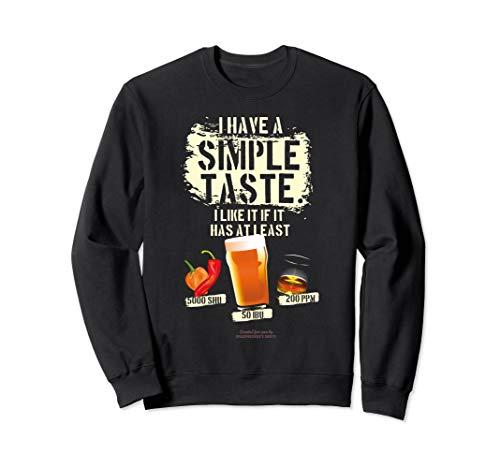 Whisky Chili Craft Beer SHU IBU PPM Sweatshirt