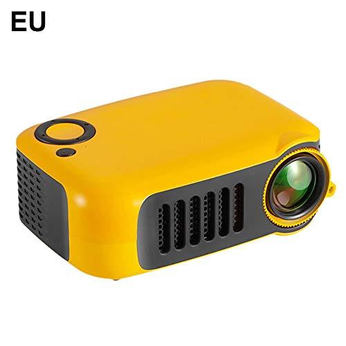 Mini Proiettore LCD A2000 Supporto per Dispositivo di Proiezione Portatile A LED per Intrattenimento LED 1080P HD 1800 Lumen per L'home Office Fornisce Porta HDMI/USB/AV E TF