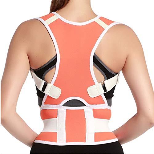 SXFYMWY Rücken Korrektur Gürtel Verstellbar Rückentrainer Ideal Zur Therapie Für Haltungskorrektur Rücken Nacken Und Schulterschmerzen