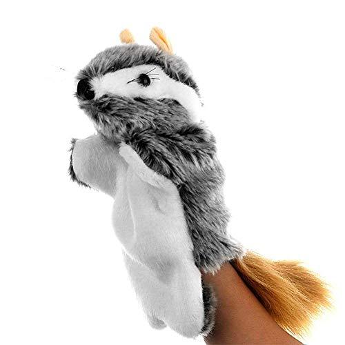 ARTFFEL Animal Felpa de Mano Modelo campañol de la Felpa del ratón Encantador Animal Felpa de la muñeca de la Manga marioneta de Mano de la narración niños de Juguete Precioso Regalo Natural