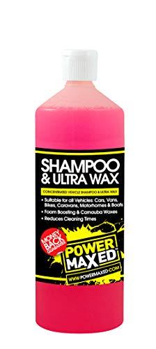 Power Maxed Power Maxing Csuwrtu - Champú y cera para lavado de...