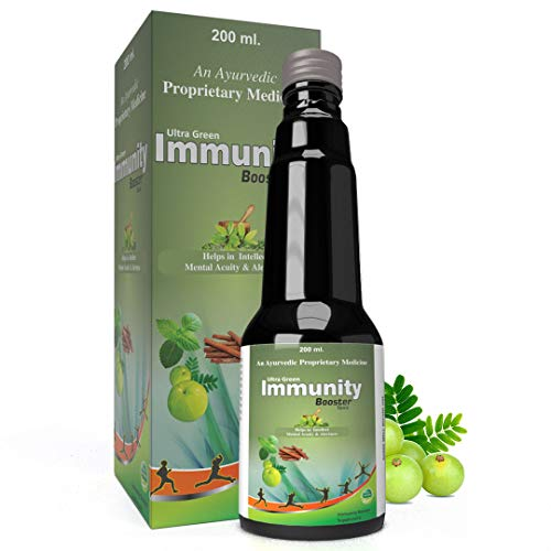 Ultra Healthcare   Ayurvedic Immunity Booster Tonic  For Strong Immunity   Digestive Health & Acidity   200 ml