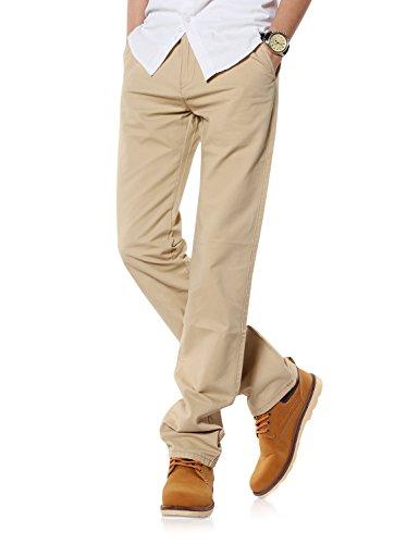 Demon&Hunter 900X Straight-Fit pantalones chinos para hombre