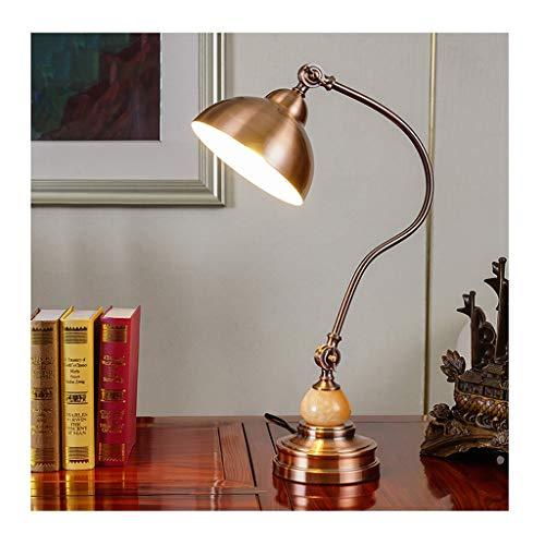 Lampe de bureau bureau adultes oeil étude attentionnée lampes de lecture écrire lampes de table LED américain rétro
