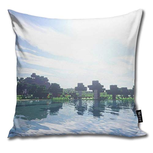 Pants Hats Mi-Necraft 14 Pattern Pillow-Home Decor Pillow Cover Bedroom Decorative Cushion Case For Living Sofas Square Pillow