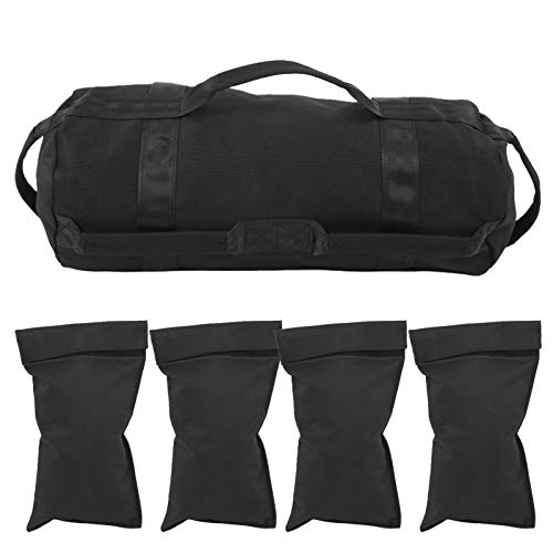 Demeras Weightlifting Sandbags, Fitness Weightlifting Sandbags Adjustable Weight Waterproof Boxing Muscle Strength Training for Boxing Muscle Strength Training