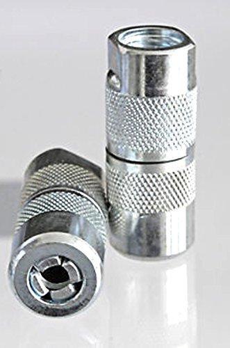 2 Piezas 4 Hornear Hidráulico - Boquilla Pistola Engrasadora/Boquillas de 4 Mordazas Boquilla de Engrase