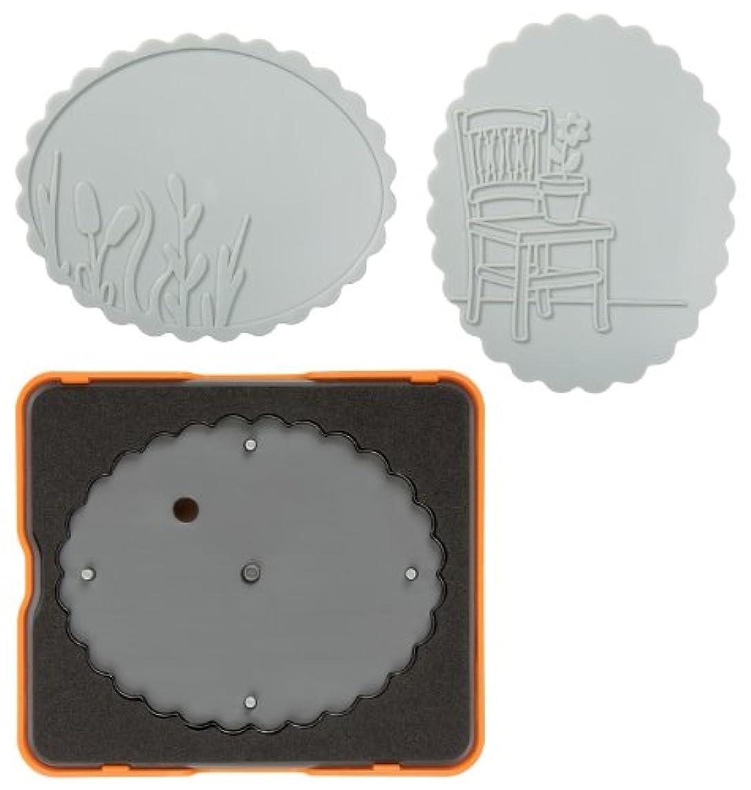 Fiskars 100830-1001 Scalloped Oval Design Set, Complex Pattern, Medium