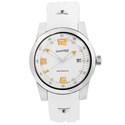 Eberhard Scafomatic Automatik Uhr, SW 200-1, 42mm, 5 atm, Orange, 41026.3.CU