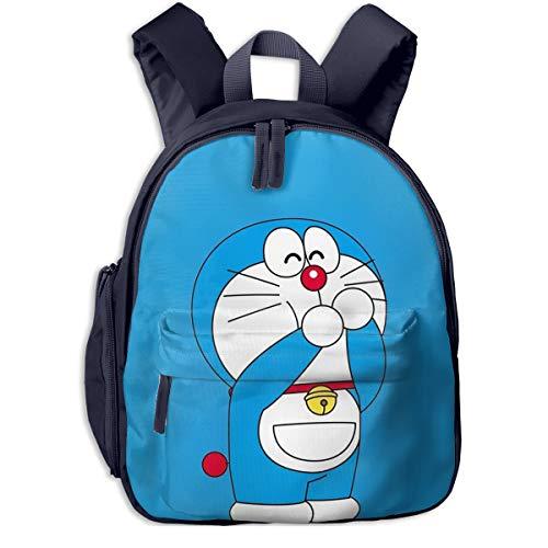 Lindo Doraemon imprimir mochilas escolares para niñas niños niños escuela primaria bolsas bookbag al aire libre Daypack