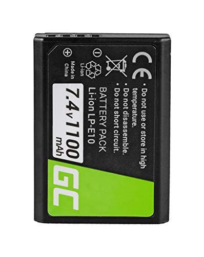 Green Cell® LP-E10 LPE10 Batería para Canon EOS 1100D 1200D 1300D Digital...