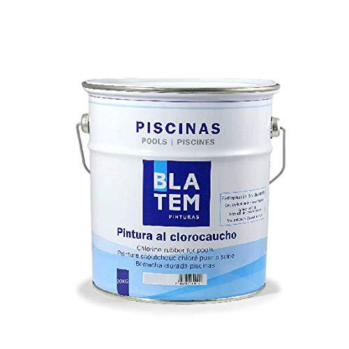 Pintura de pintor con gota de chloro, 20 kg, color azul claro