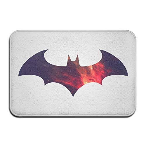 Why So Serious Joker Batman Fußmatte Anti-Rutsch Haus Gartentor Teppich Türmatte Bodenpolster