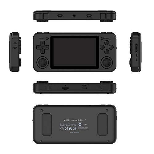 DGDFA Handheld Spielkonsole Retro Spielkonsole 3,5 Zoll IPS Bildschirm Tragbare Spielkonsole