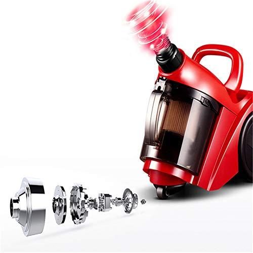 N / B Aspirador de Mano con Cable, liviano, de Limpieza Profunda, rápido y eficiente, de Alta Potencia, silencioso, ciclón sin Bolsa para el Polvo, fácil de operar, para Uso en Interiores