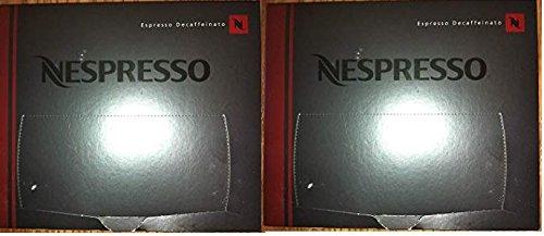 Nespresso Lungo Decaffeinato Coffee Cartridges PRO NEW, 50 Capsules (2 boxes - 100 capsules)