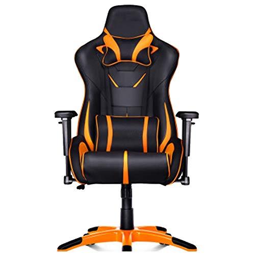 Silla de gaming ergonómica de piel para carreras, Anchor, asiento protegido contra explosiones