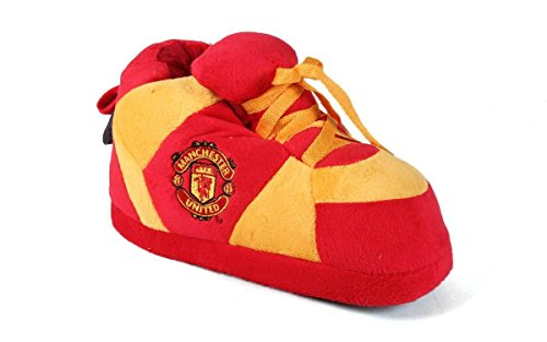 Comfy Feet MAU01-3 Large Manchester United Soccer Club Slippers