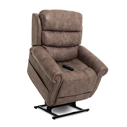 Pride ViVaLift Tranquil v.2 Infinite Lay Flat Lift Chair (PLR935M) with Inside Delivery and Setup Option (Astro Mushroom, Curbside Delivery)