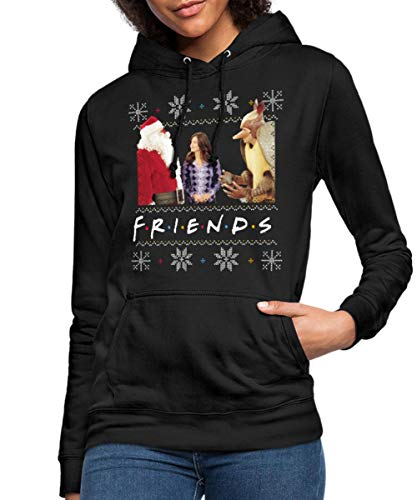 Spreadshirt Friends Ugly Christmas Sweater Vrouwen Hoodie