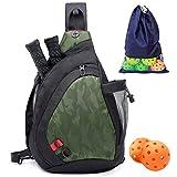 ZOEA Pickleball Bag Sport Pickleball Sling Bag para mujer hombre, bolsa...