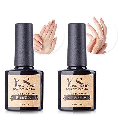 Y & S Soak-Off-Gel nagellak met uv-led-manicure lak nagelstarterkits elk 10 ml.
